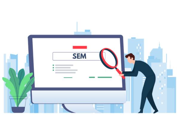 SEM in digital marketing