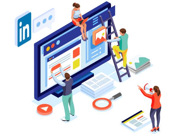 Linked Company Page