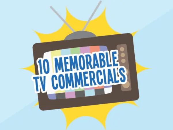 popular TV commercials