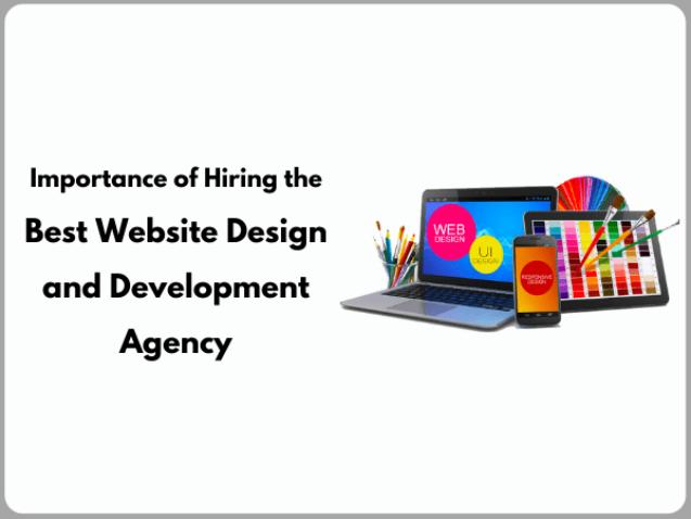 website design and development agency